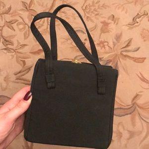 Vintage black mini purse